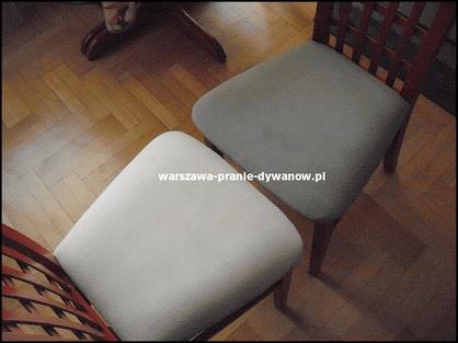 warszawa pranie krzeseł