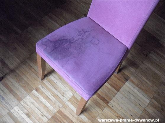 wilanów czyszczenie krzeseł