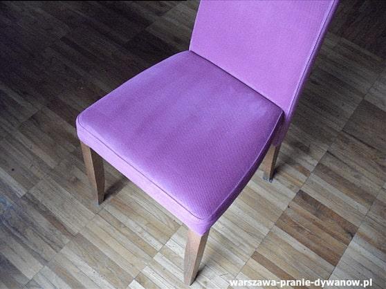 wilanów pranie krzeseł
